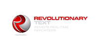 Revolutionary Text Logo