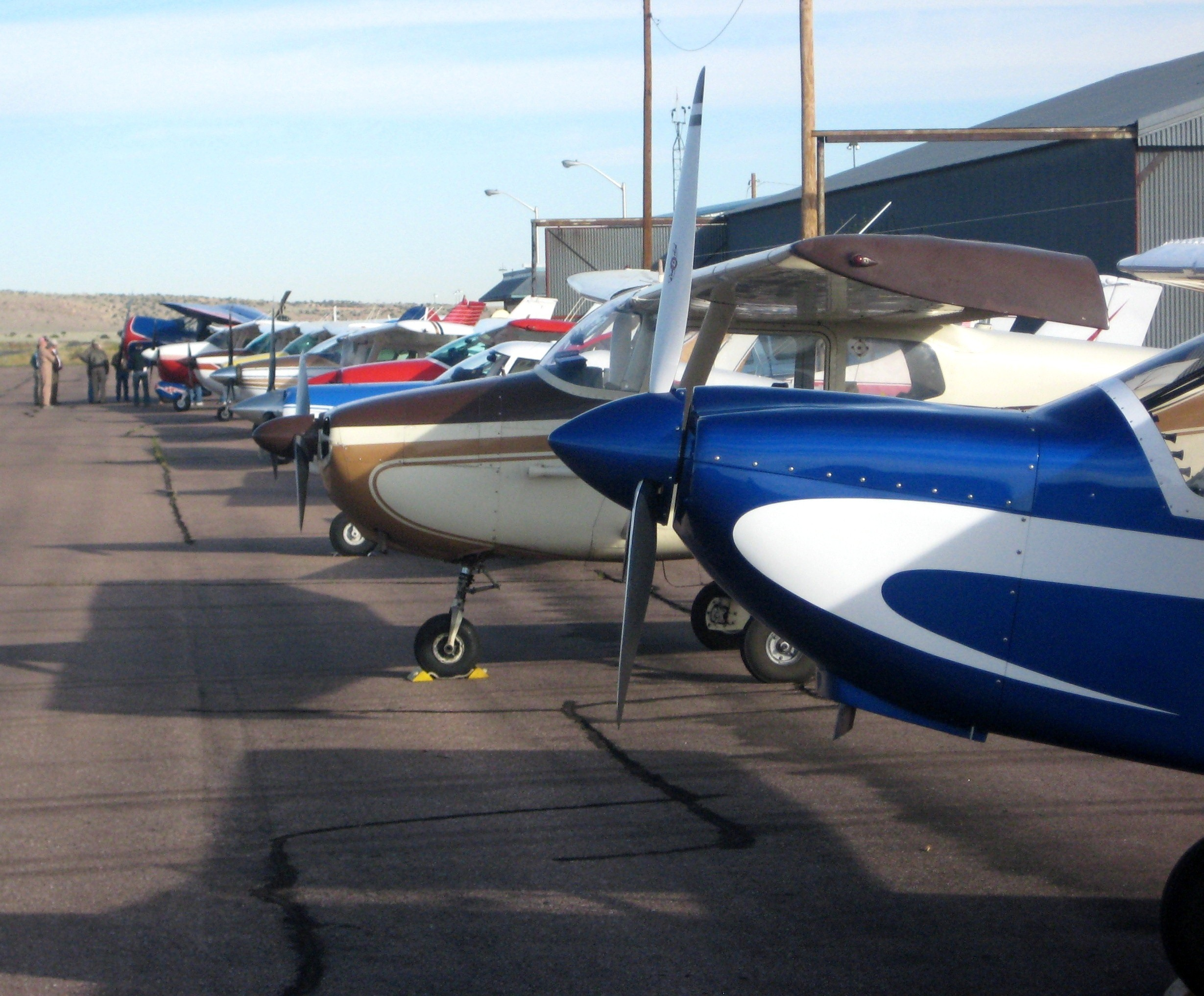 Flightline at KGNT