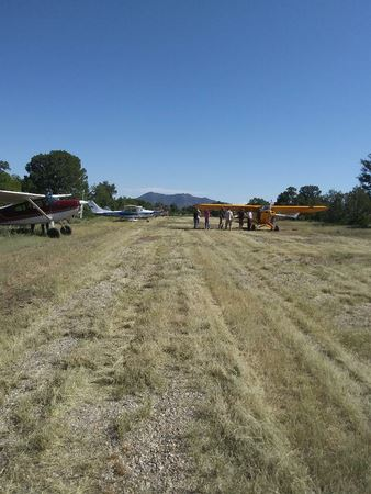 Photos taken by various attendees during the Fly In weekend at Grant Besley Airstrip NM03, near Taos, NM