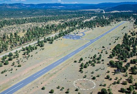 Reserve Airport serves as a base for the annual NMPA Gila Regional Fly In