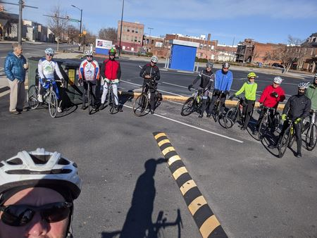 The clubs annual Chili Ride on New Years Day.