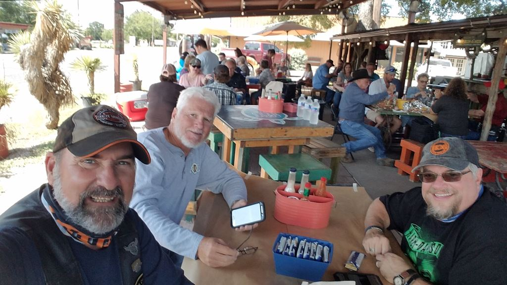 Great ride with friends to Wilfong's Cajun Shack in Bluffdale for their last weekend open for the season.