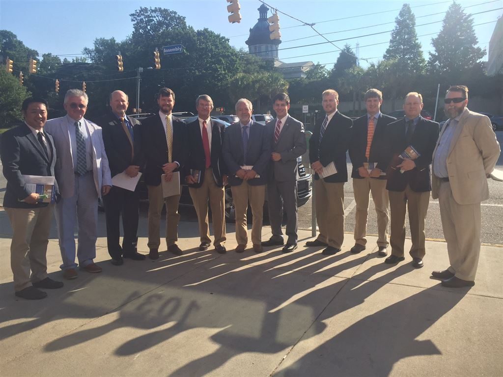 Members introduced State Senators and Representatives of South Carolina to ASHRAE