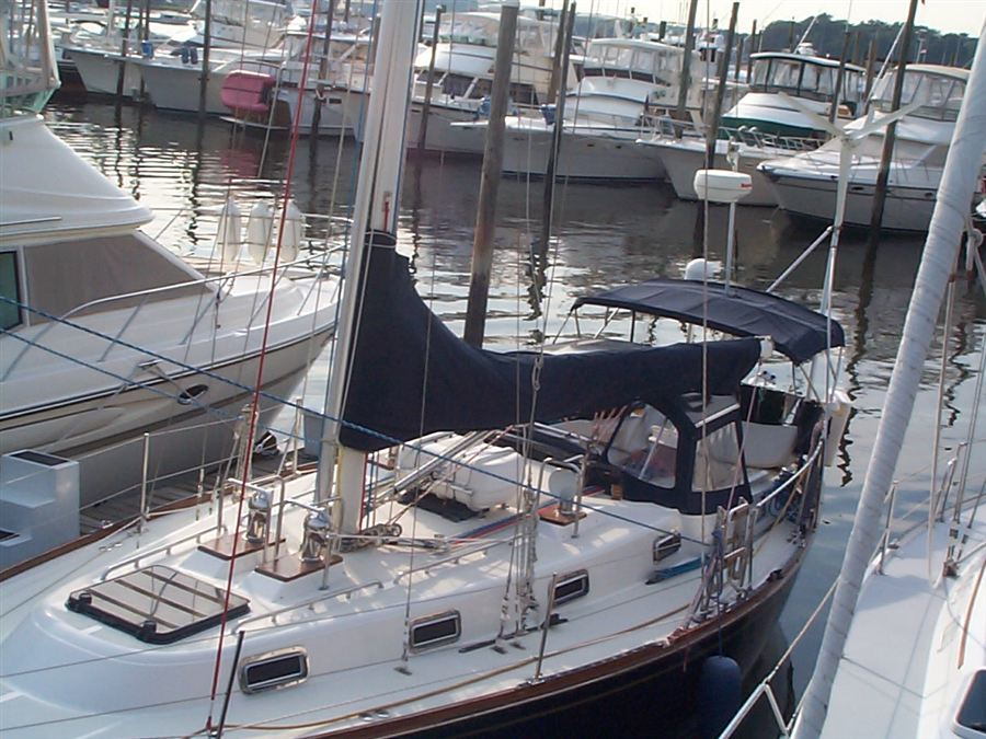 Eric Freeman completely renovated T37 hull #252 in 1998. See Info/Models/T37 for details.