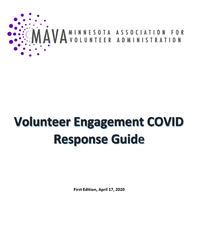 Volunteer Engagement COVID-19 Response Guide V.1 - click to view details