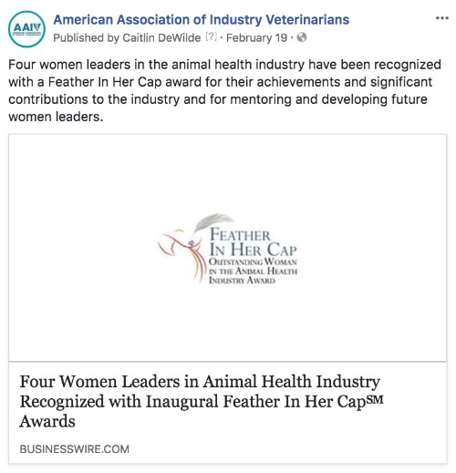 AAIV News - American Association of Industry Veterinarians