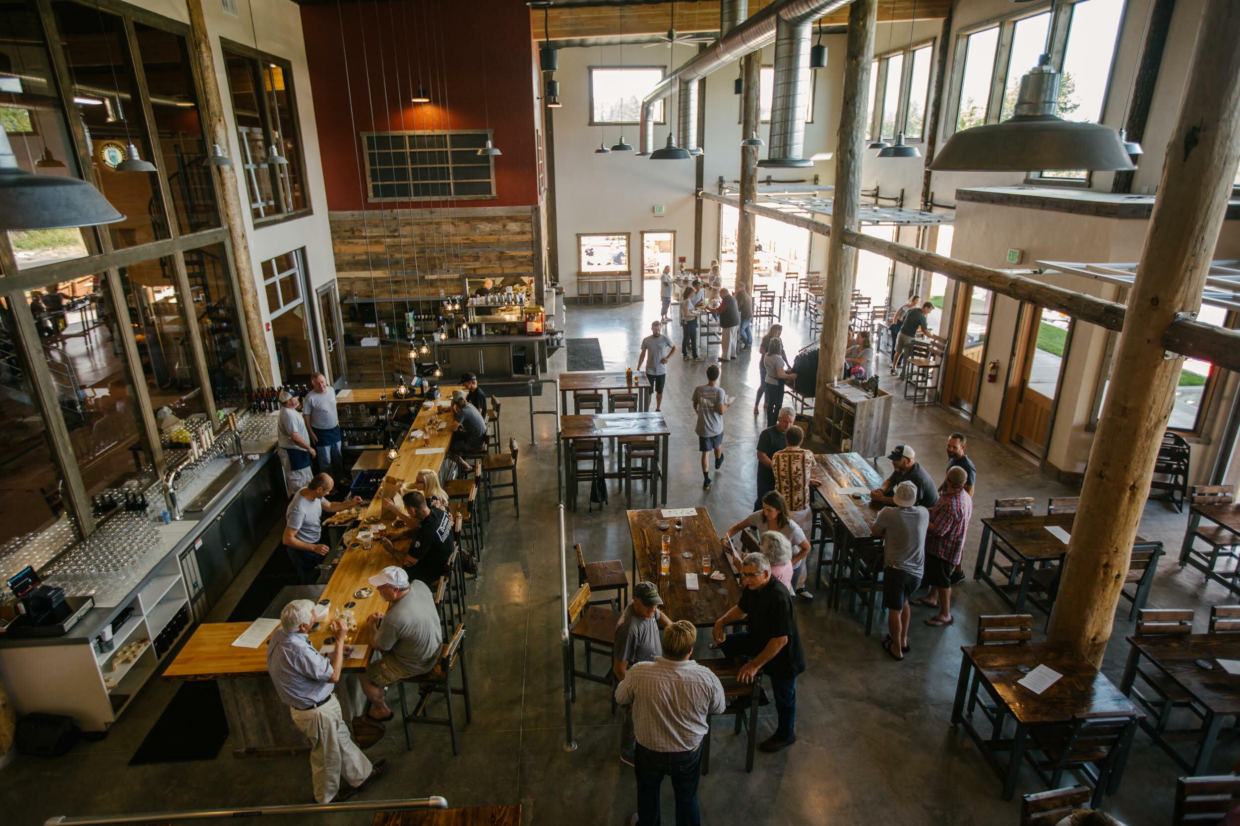 SJI Brewery inside