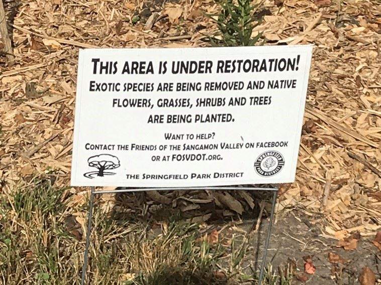 Restoration of the multi use trails done by the Trail Angels