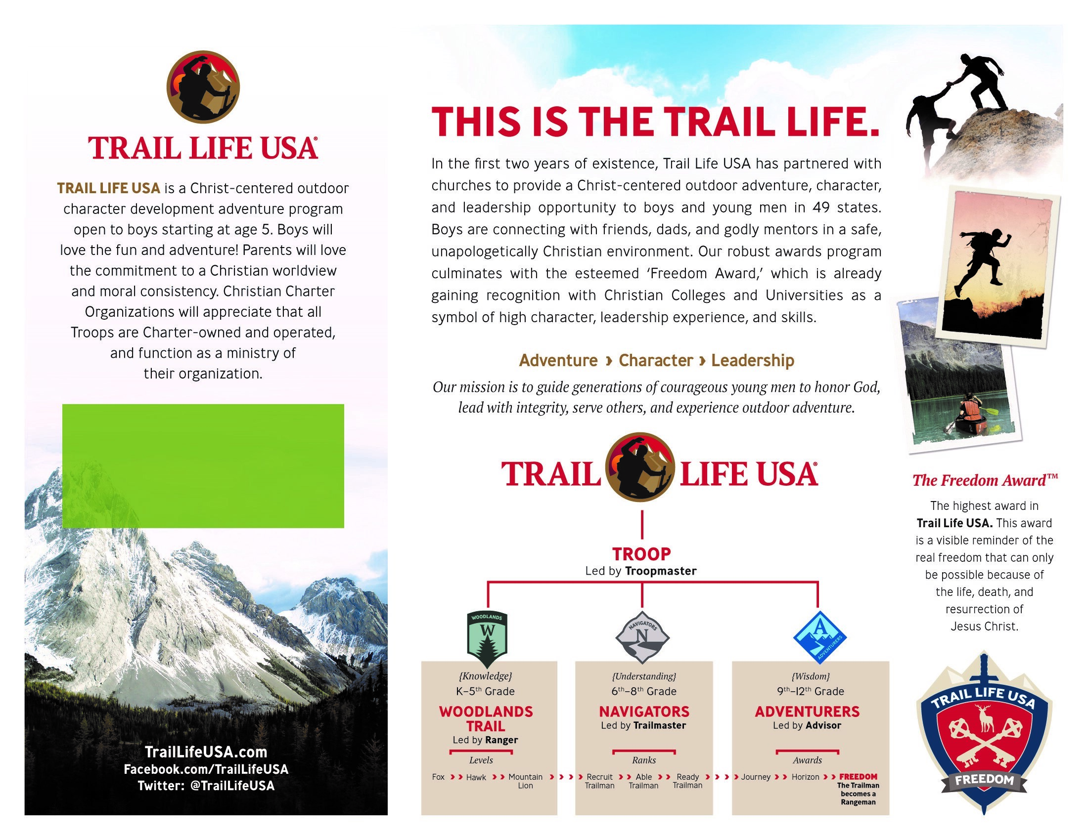 Trail Life Flyer