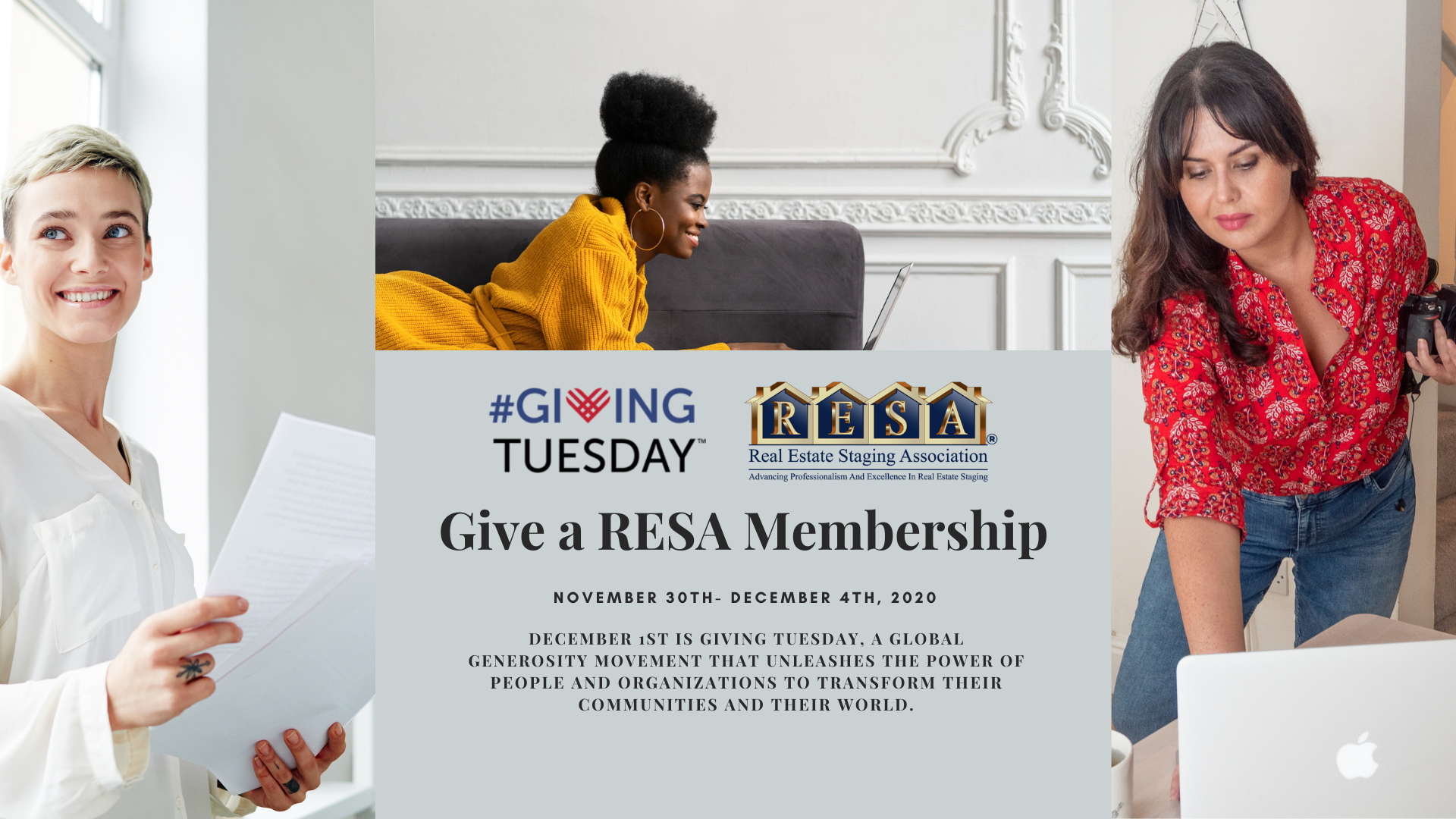 Giving Tuesday Homepage banner
