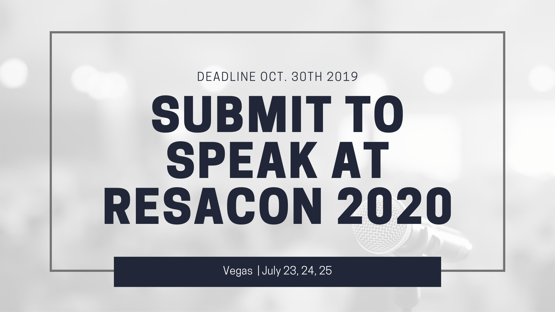 resacon 2020 submit to speak