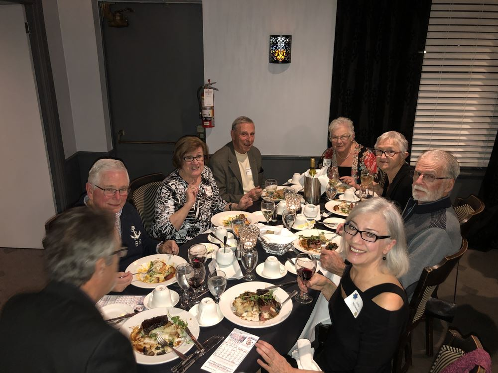 Over 50 members enjoyed our annual Christmas dinner held at Olive's Casual Cuisine restaurant in Sarnia.