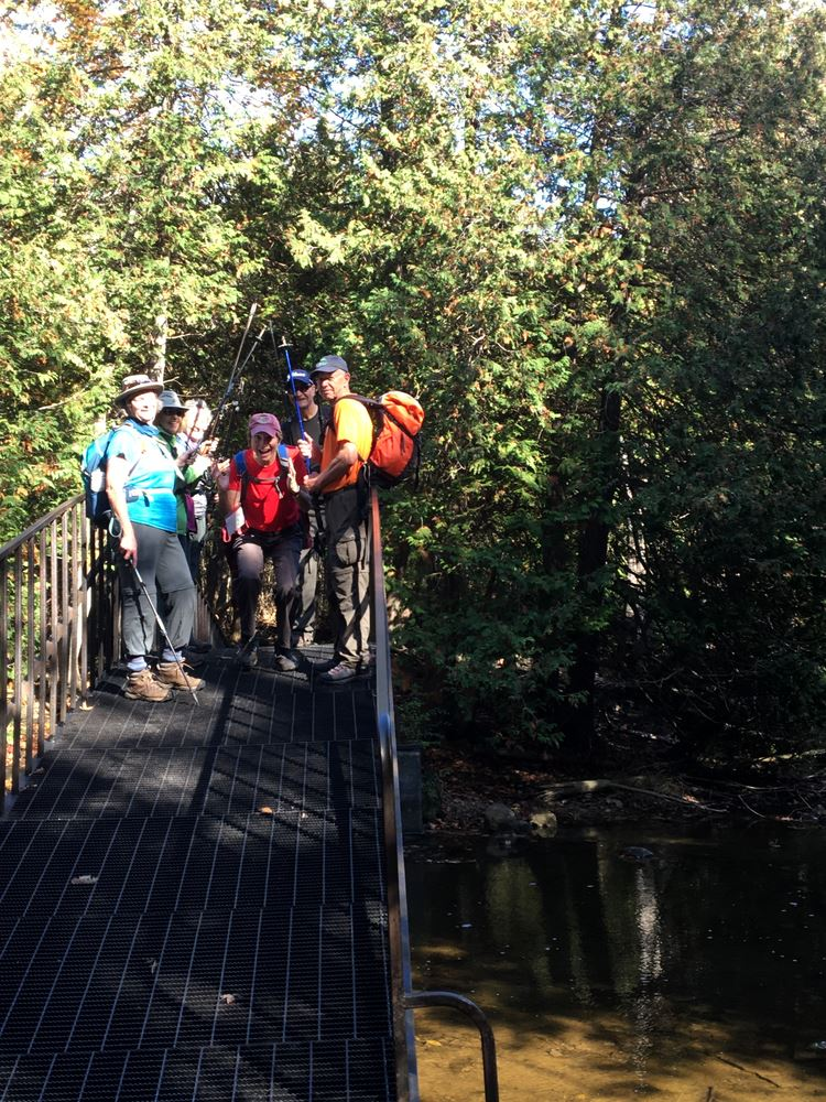 Bruce trail hike Oct 20/19
