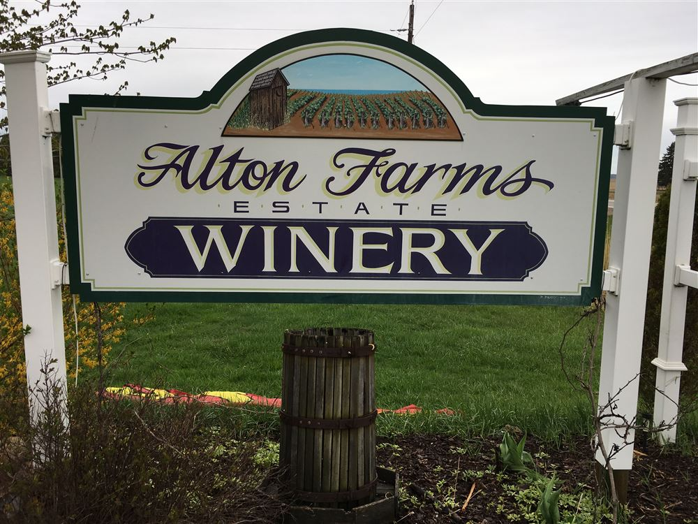 A beautiful walk through the trails of Alton Farms Winery.