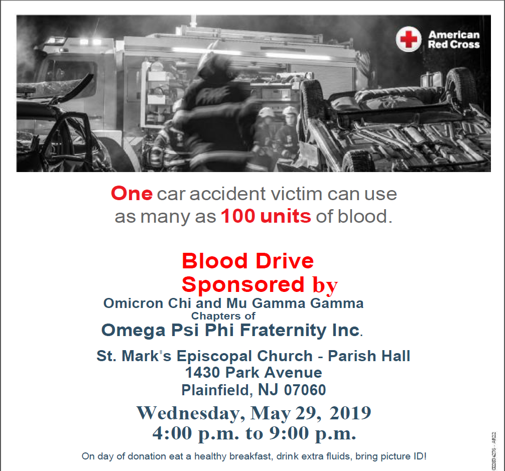 2019_Blood Drive_Flyer