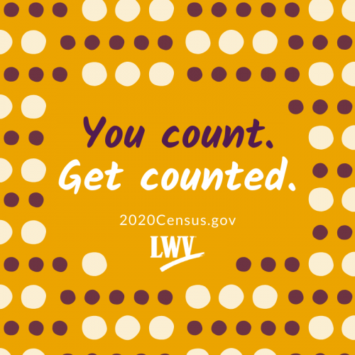 Census - You count. Get counted.