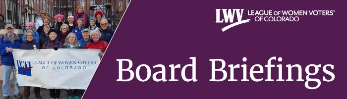 Board Briefings