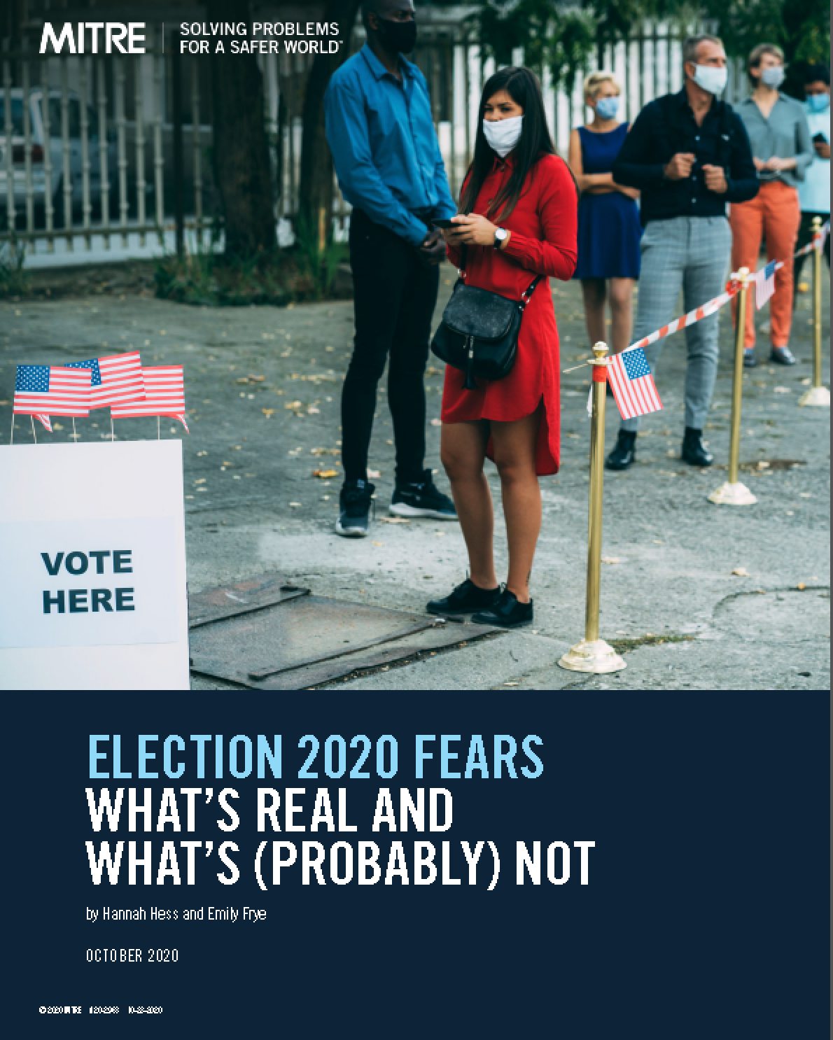 Election 2020 Fears