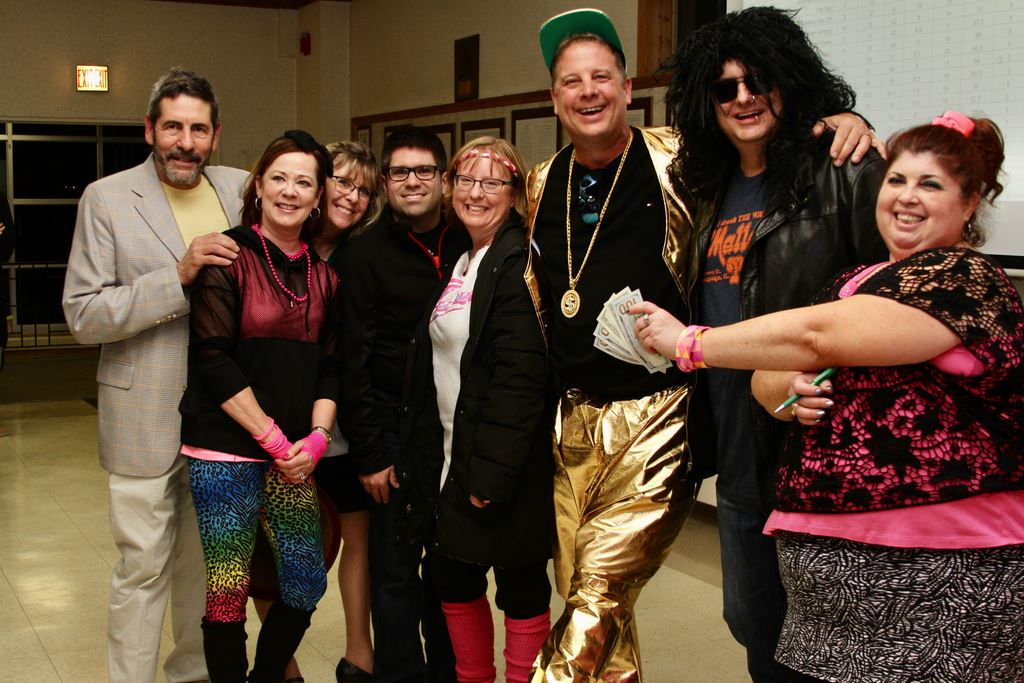 Rotary After Dark 80's Trivia Night. Totally Radical Rotarians represent RCN