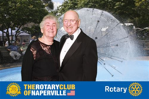 Pictures of the Rotarians who attended