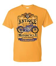 Men's Tee: GOLD - 1924 Indian   - click to view details