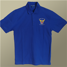 Polo Shirt: Embroidered Color Logo  - click to view details