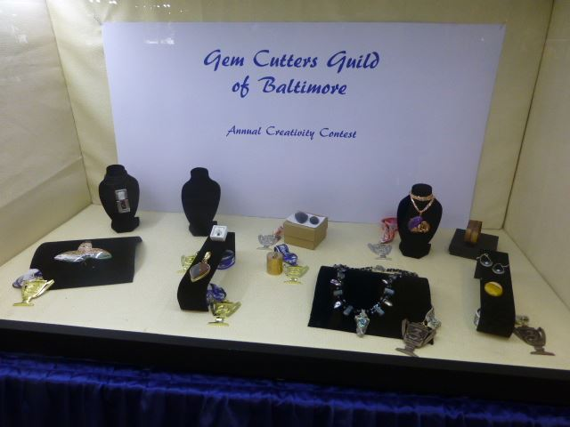 Howard County 54th Atlantic Coast Gem, Mineral, Jewelry & Fossil Show sponsored by the Gem Gutters Guild of Baltimore