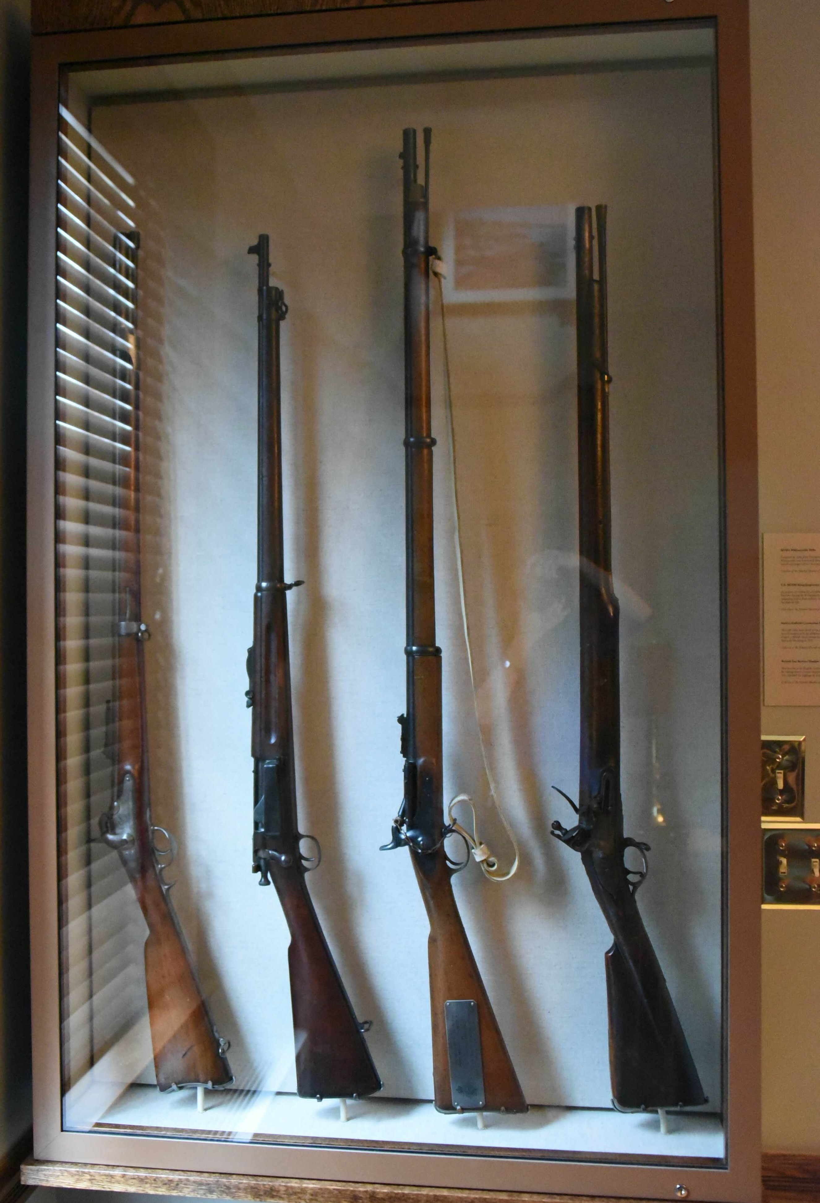 Rifles Display Case