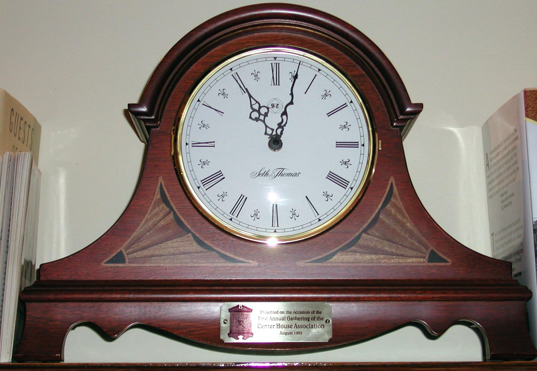Center House Mantle Clock