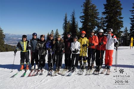 Northstar and Heavenly Valley with various people.