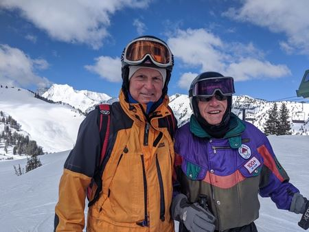 skiing with 70+ club to UTAH 2020