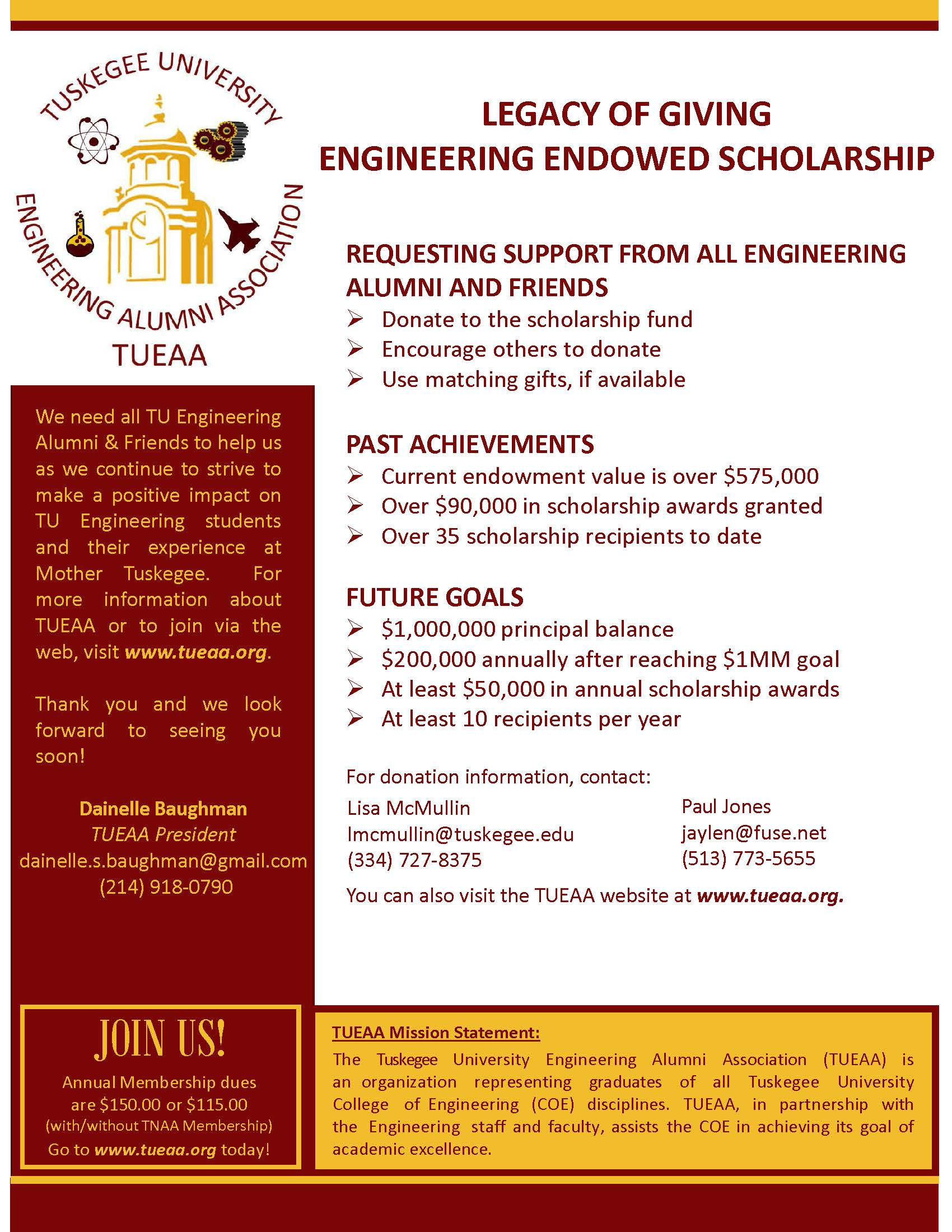 TUEAA Endowed Scholarship