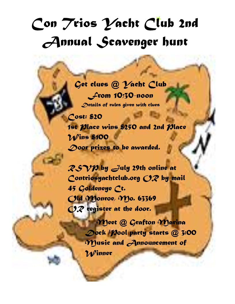 2nd annual Con Trios Scavenger Hunt