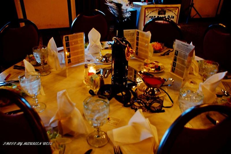 2016 IceBreaker at Pere Marquette Lodge.  Masquerade Ball and Murder Myster