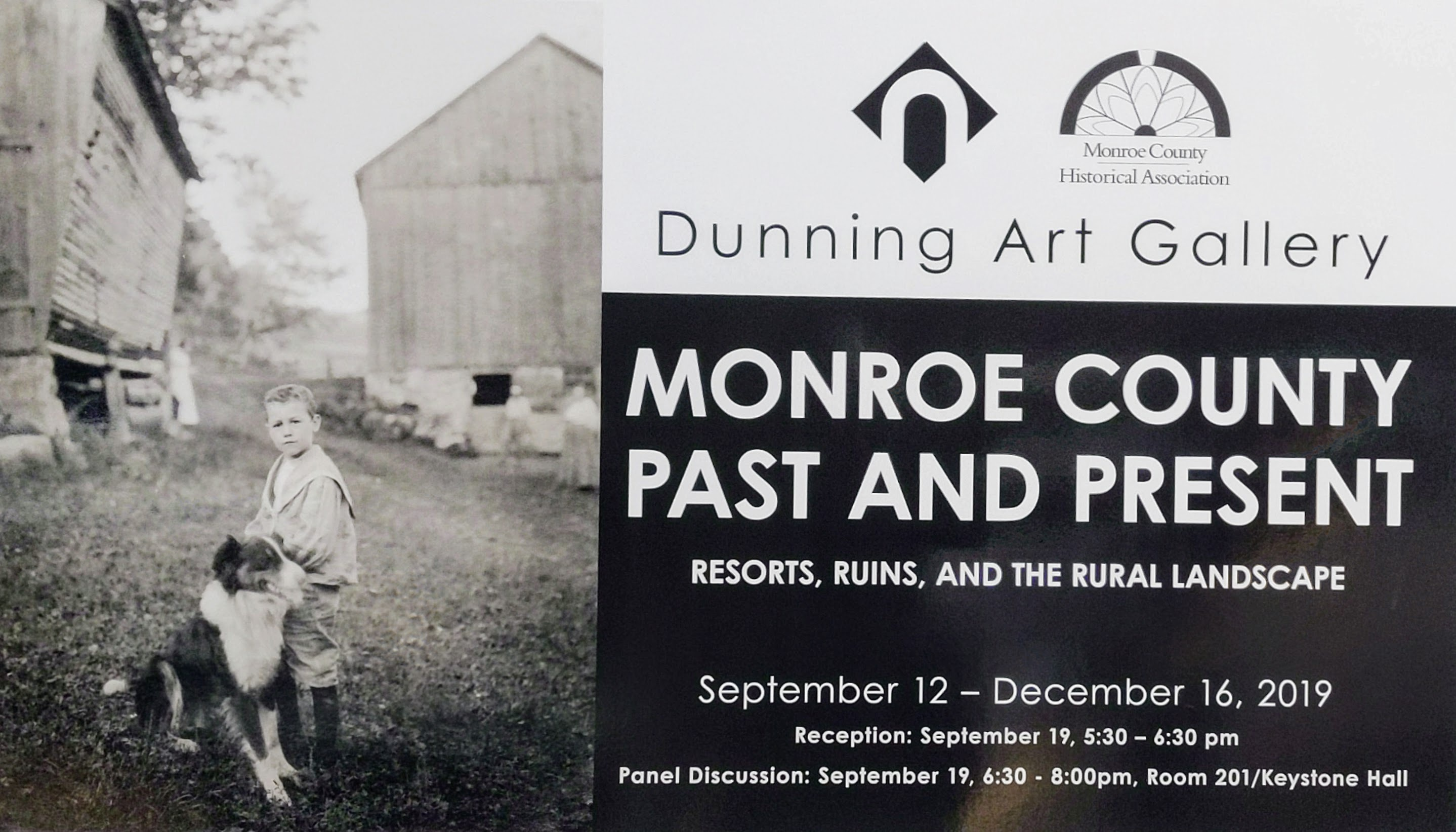 Dunning Gallery Show - Monroe Cty Then and Now