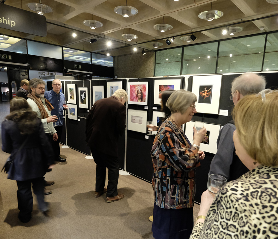Members and their guests at the Private View