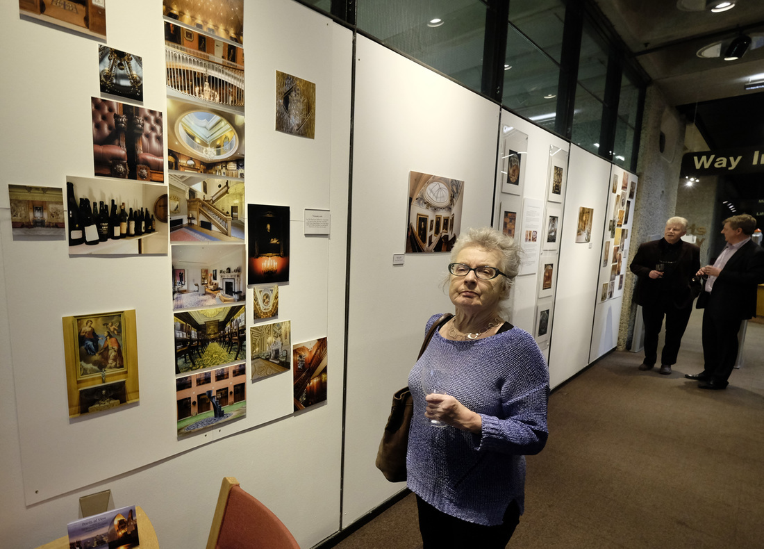 Guests and Livery Halls exhibit