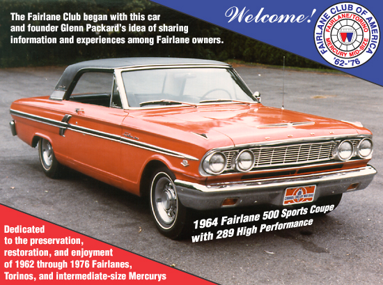 Home - Fairlane Club of America