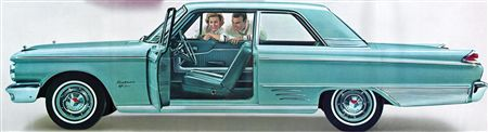 1962 Meteor Custom S-33 2-door Sedan (bucket seats  console)
