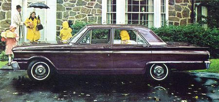 1963 Fairlane (non-500) 4-door Sedan