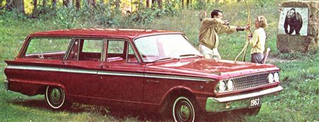 1963 Fairlane 500 Ranch Wagon