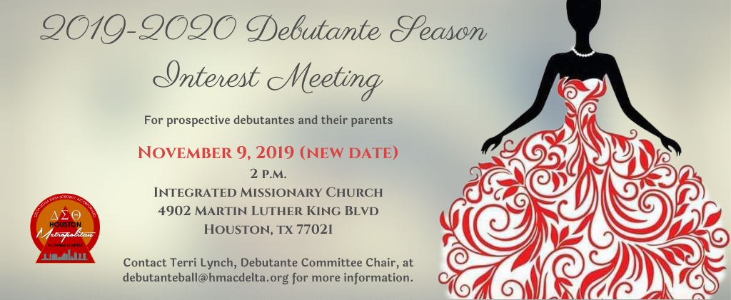 Debutante Interest Meeting-Nov2019
