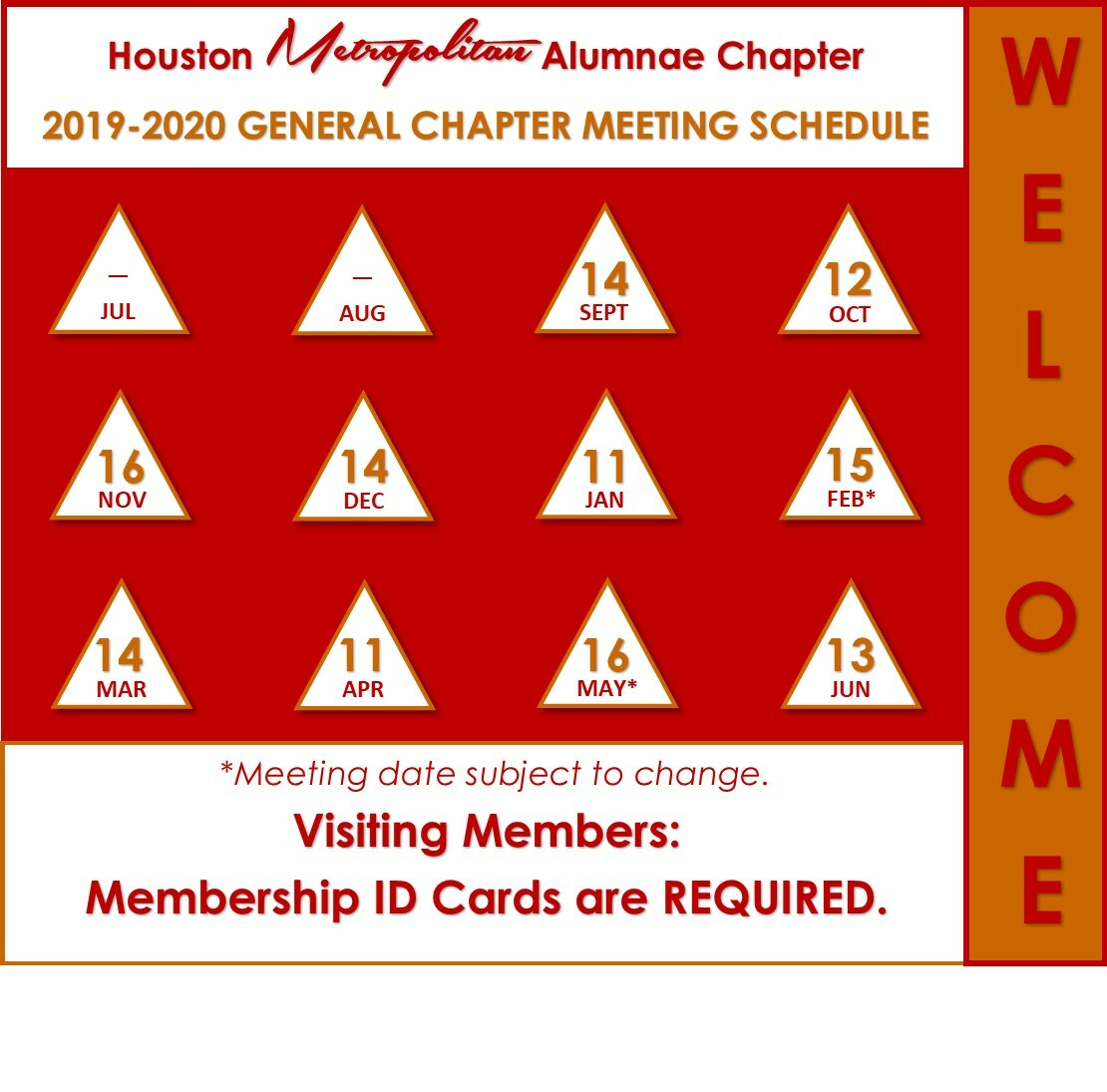 2019-2010 General Chapter Meeting Graphic