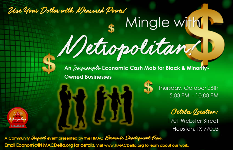 October 17 Mingle Flyer