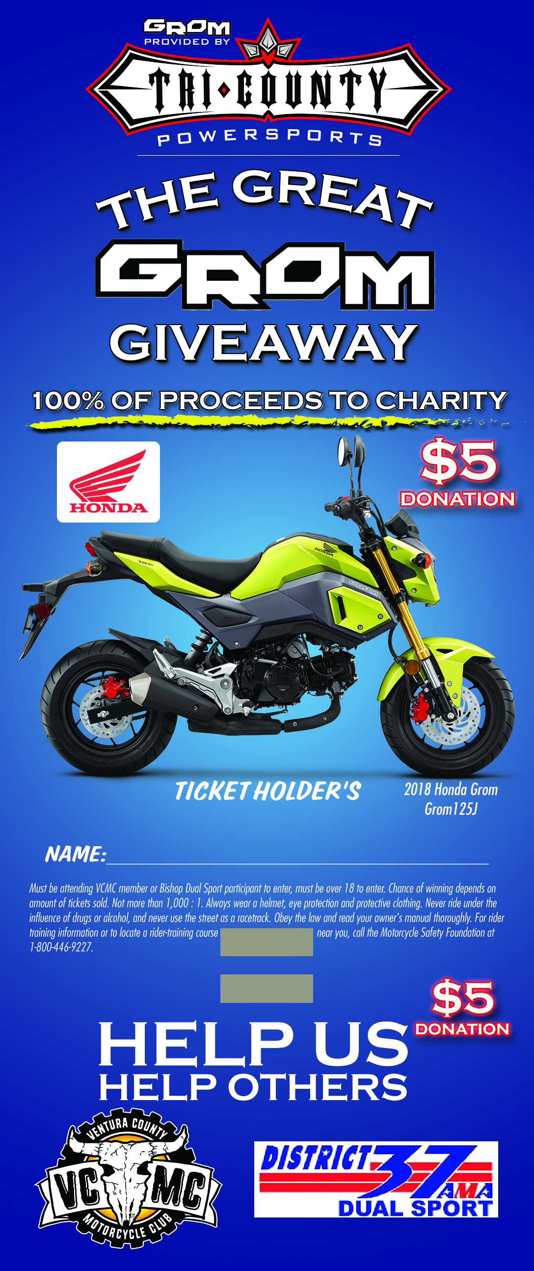 Grom give away 2018