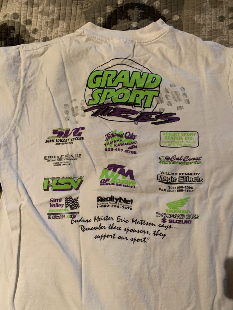 This is a collection of photos of our event T-shirts throughout the years.