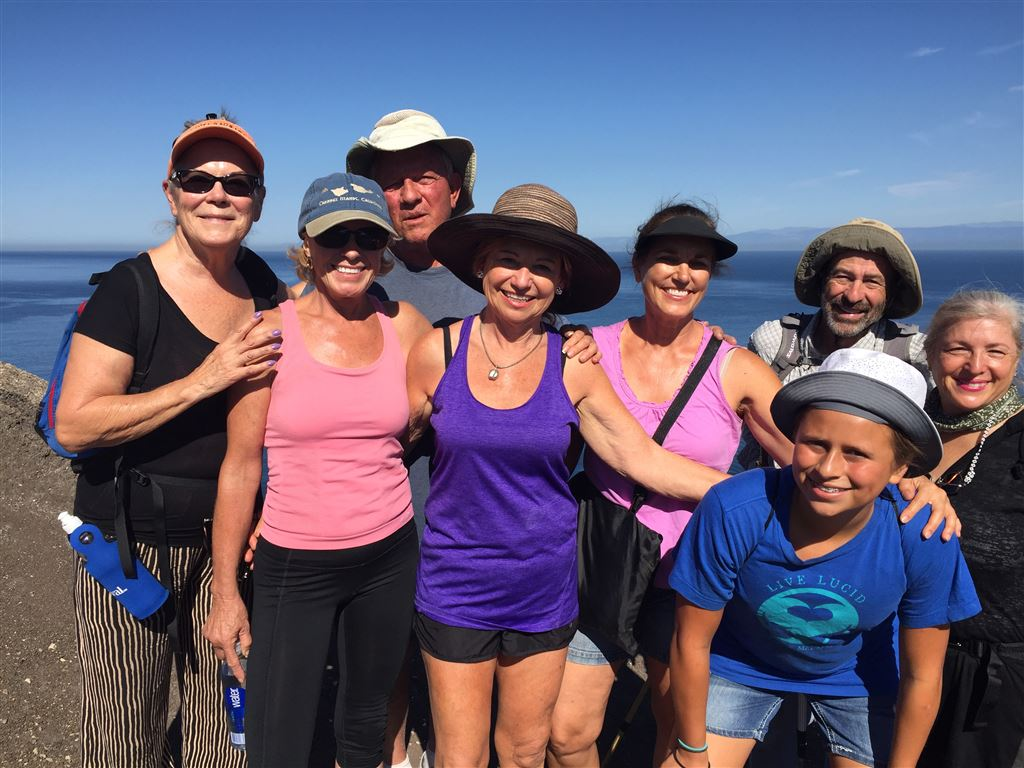 Ski Club members & friends enjoyed Camping, Hiking, Snorkeling, Kayaking & Camaraderie on the beautiful Santa Cruz Island (Channel Island National Parks).