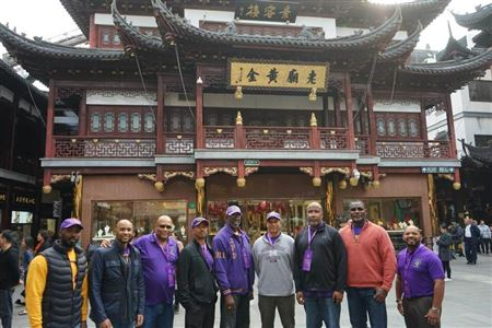 Photos taken in Shanghai, China as part of Chi Mu Nu's Charter Weekend