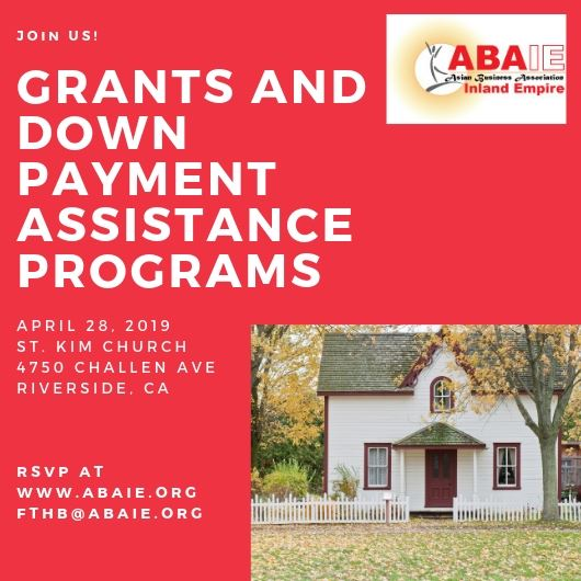 HOMEBUYER GRANTS AND DOWN PAYMENT ASSISTANCE INFORMATION SESSION