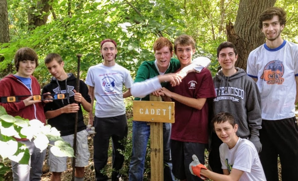 Scouts Eagle Trail Name project